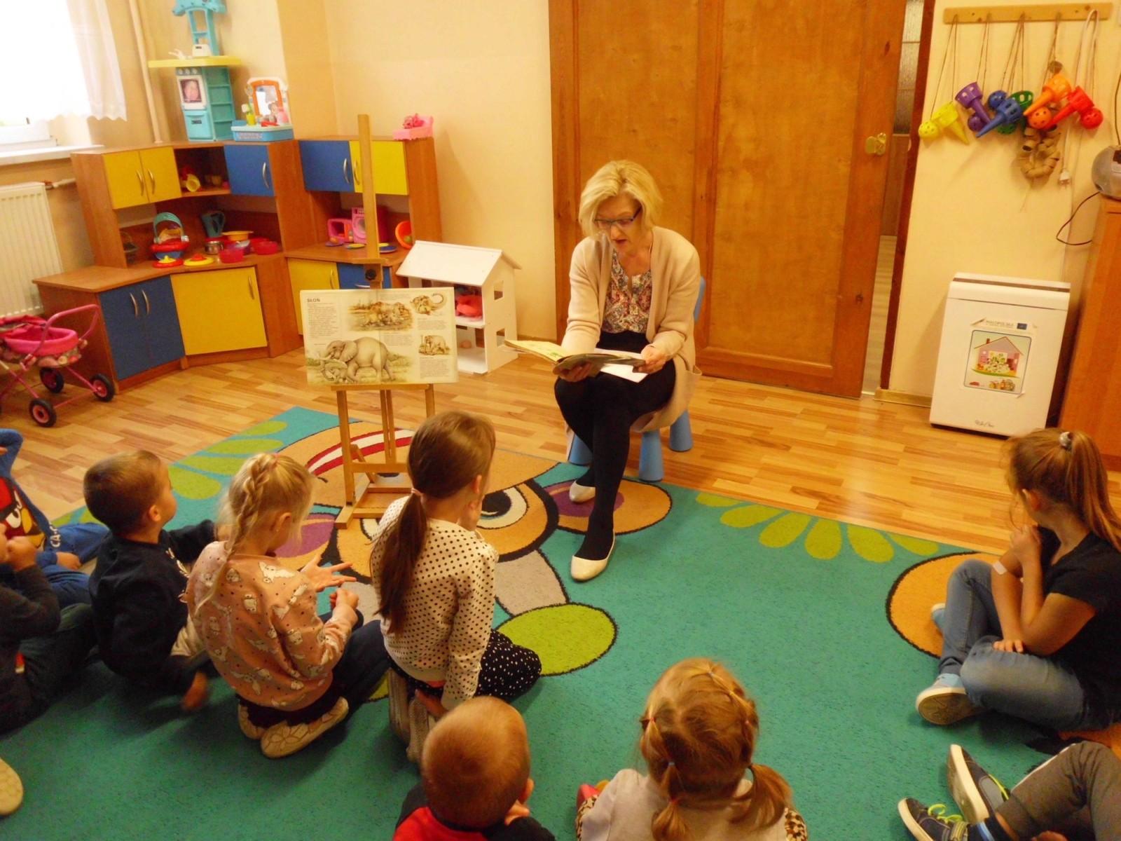 Zajęcia dydaktyczne z przedszkolakami, Grojec 11.10.2021